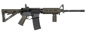 Colt Law Enforcement Carbine LE6920CMPOD, 223 Remington/5.56 NATO, 16.1 in, Semi-Auto, 4 Pos Stock, OD Green Finish, 9+1 Rds, CA Model w/Bullet Button
