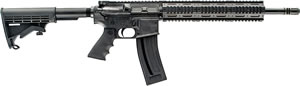 Chiappa Mfour-22 Gen-II Pro Rifle CF500088, 22 Long Rifle, 18.5 in, Semi-Auto, Black 6-Pos Collapsible Stock, Black Finish, 28+1 Rds