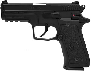 Chiappa M27E Tactical Pistol  440034, 40 S&W, 3.9 in, Black Polymer Grip, Black Finish, 10+1 Rd, Dbl Act Only