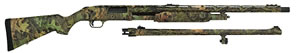 Mossberg 500 Turkey/Deer Combo Shotgun 53267, 12 Gauge, 24 in, 3 in Chmbr, Pump, Syn Stock, Mossy Oak Obsession Camo Finish, 5+1