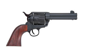 Traditions Rawhide 1873 Single Action Revolver SAT73260, 45 Colt, 4.75 in, Walnut Grip, Black Finish, 6 Rd
