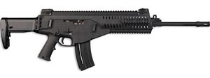 Beretta Model ARX160 Rifle JXR21801, 22 Long Rifle, 18 in, Semi-Auto, Folding Stock, Black Finish, 10+1 Rds