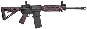 Sig Sauer Model M400 Enhanced Rifle RM40016BECPMG, 223 Rem/5.56 NATO, 16 in, Semi-Auto, Muddy Girl Collapsible Stock, Black Finish, 30+1 Rds