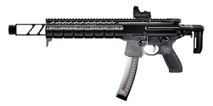 "Sig Sauer MPX Carbine MPXC9T, 9mm, 16"" BBL, Semi Auto, Telescoping Black Stock, Black Finish, 30 + 1 Rd"