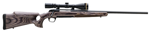 Browning X-Bolt Eclipse Hunter Rifle 035299246, 300 WSM, 23 in BBL, Bolt Action, Monte Carlo Laminate Wood Stock, Blued Finish, Adj Trigger, 3+1 Rds