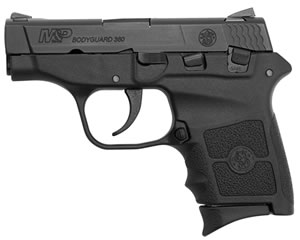 "Smith & Wesson M&P Bodyguard Pistol 109381, 380 ACP, 2.75"" BBL, DAO, Integral Polymer Grips, Mt Black Finish, 6 + 1 Rd"