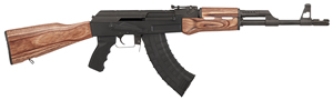 "Century Arms Centurion 39 Classic Rifle RI216-N, 7.62x39mm, 16.5"" BBL, Semi Auto, Brown Lam Wood Stock, Black Finish, 30 + 1 Rd"