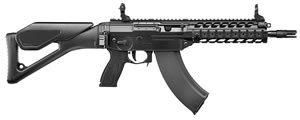 Sig Sauer Model 556XI Swat Rifle R556XI76216BSAK, 7.62X39, 16 in BBL, Semi Auto, Polymer Swiss Folding Stock, Black Finish, 30+1 Rds