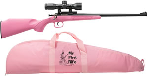 "Chipmunk Rifle 220BSC, 22 Long Rifle, 16.1"" BBL, Bolt Action, Syn Pink, 1 Rds"