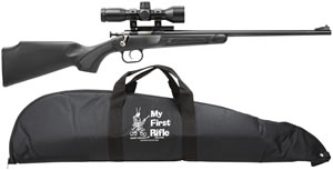 "Chipmunk Rifle240BSC, 22 Long Rifle, 16.1"" BBL, Bolt Action, Syn Black, 1 Rds"