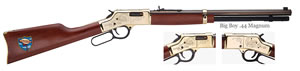 Henry Goldenboy Truckers Tribute Rifle H006TT, .44 Rem Mag, 20 in BBL, Lever Action, American Walnut Stock, 10+1 Rds