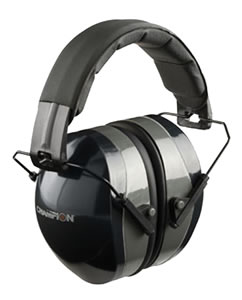 Champion 40970 Black Earmuffs, 27 NRR