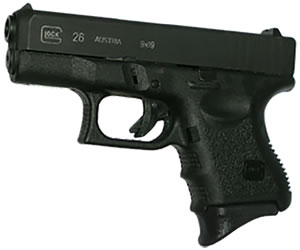 Pearce PG26 Black Grip Extension For Glock 26 / 27 / 33