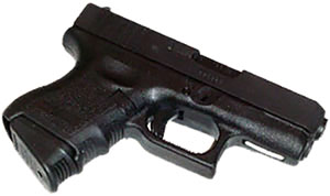 Pearce PG2733 Black Grip Extension For Glock 27 / 33 + 1