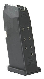 Glock Magazine MF26010, For G26, 9mm, 10 Rd, Blue