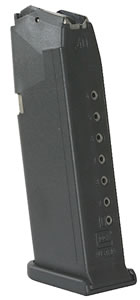 Glock Magazine MF10023, For G23, 40 Smith & Wesson, 10 Rd, Blue