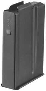 Ruger 90353 Magazine, Scout, 308 Winchester, 10 Rd, Black Oxide