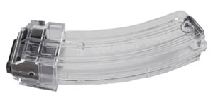 Shooters Ridge 40629 Magazine, 10/22 Metal Head, 22 Long Rifle, 30 Rd, Clear