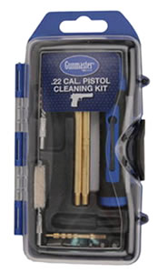 DAC Technologies GM22P, Pistol Cleaning Kit, .22 Caliber, 14 Piece, Bronze