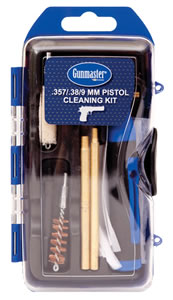 DAC Technologies GM9P, Pistol Cleaning Kit, 38/9mm Caliber, 14 Piece, Bronze