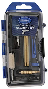 DAC Technologies GM40P, Pistol Cleaning Kit, 40/10mm Caliber, 14 Piece, Bronze