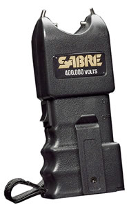 Security Equipment Sabre Stun Gun 400K Volt  S400S