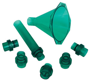 RCBS 9190 Funnel Kit Includes Funnel / 5 Adapters & 1 Drop Tube