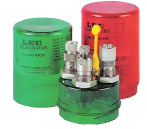 Lee 90622 Carbide 3-Die Set w/Shellholder For 32 ACP