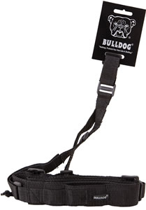 Bulldog Cases Tactical Three Point Sling w/Black Nylon Webbing BD825