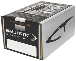 Nosler 51030 Ballistic Silver Tip Bullet 6MM Cal 55 Grain 100/Box, (Not Loaded)