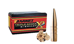 Barnes Bullets 45814, TSX FB, .458 Caliber, 300 gr, 20 Per Box (Not Loaded)