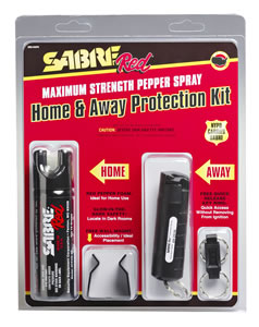 Security Equipment Sabre Home Away Pepper Spray SRUHAPK