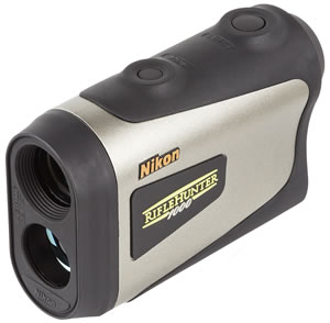 Nikon LSR RifleHunter 1000 Rangefinder 8377, 6x, 21mm, Includes CR2 Lithium Battery