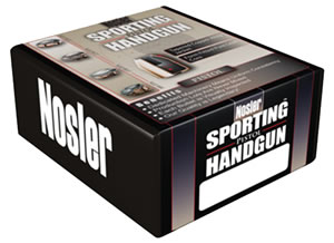 Nosler 44848 Jacketed Hollow Point Handgun Bullet 9MM Cal 115 Grain 250/Box, (Not Loaded)