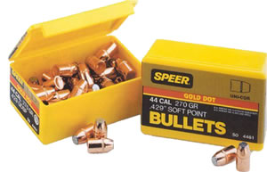 Speer 3998 9MM Cal 124 Grain Gold Dot Hollow Point 100/Box, (Not Loaded)