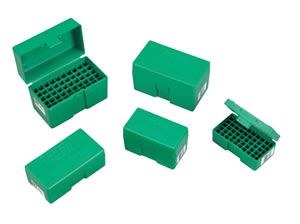 RCBS 86901 Small Rifle Ammo Box For 17 Rem. / 204 Ruger / 221 Fireball / 222 Rem. / 223 Rem