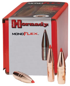 Hornady Bullets 30310, MonoFlex , .308 Caliber, 140 gr, 50 Per Box (Not Loaded)
