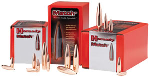 Hornady 22796 .224 Cal 75 Grain Boat Tail Hollow Point 600/Box, (Not Loaded)
