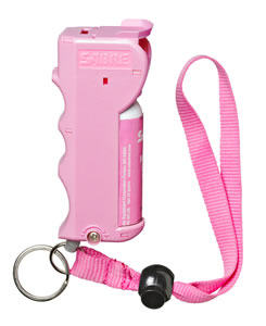 Sabre SST01PKUS Pepper Spray ..54 oz Up to 10 Feet Pink