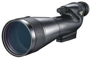 Nikon 6974 ProStaff Spotting Scope 20-60x 82mm 99 ft @ 20x 15.2mm @20x Black , w/$10 Coupon For Future Order