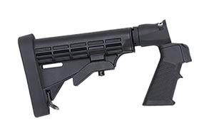 Mossberg 95219 Flex Shotgun Stock Synthetic Black 6-Pos Tac