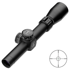 Leupold 115387 Mark AR MOD 1 Rifle Scope, Fire Dot BDC Reticle, 1-4x 20mm Objective, Matte Black Finish