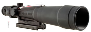 Trijicon TA55A, ACOG Scope, Chevron Reticle, 5x 50mm Objective, Black Finish