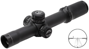 Leupold 116670 Mark 8 Rifle Scope, M5B2, CMR-W Reticle, 1.1-8x 24mm Objective, Xtended Twilight Coating, Matte Finish , w/$150 Off Coupon For Accessories