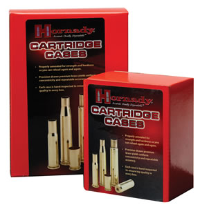 Hornady Bullets 8721, Unprimed Brass Cases, 338 Marlin Caliber, 50 Per Box (Not Loaded)