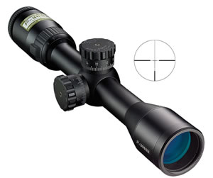Nikon 6797 P300 AR Rifle Scope, BDC Supersub Reticle, 2-7x 32mm Objective, Black Finish