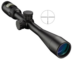 Nikon 8473 P-223 AR Rifle Scope, BDC Carbine Reticle, 4-12x 40mm Objective, Black Finish