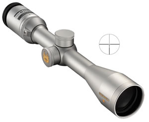 Nikon 6764 Monarch 3 Rifle Scope, BDC Reticle, 2-10x 42mm Objective, Silver Finish