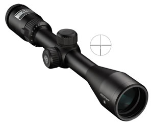 Nikon 6736 Prostaff 5 Rifle Scope, BDC Reticle, 2.5-10x 40mm Objective, Black Finish