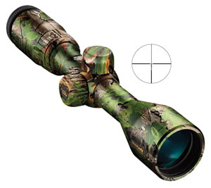 Nikon 6793 Inline XR Muzzleloader Rifle Scope, BDC 300 Reticle, 3-9x 40mm Objective, Extra Green Finish